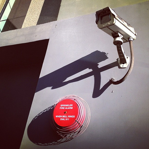 Photo: Sprinkler Fire Alarm by Keith Hamm via Attribution Engine. Licensed under CC BY-NC-ND.