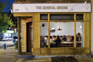 THE GENERAL GREENE STOREFRONT